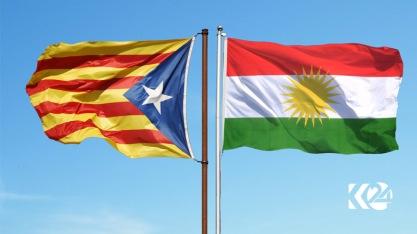 KurdistanCataloniaflags